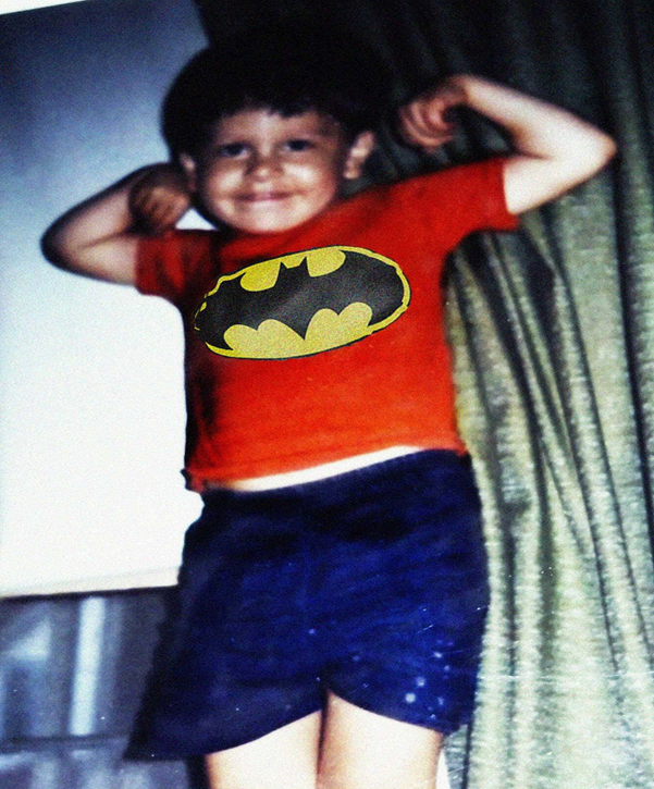 Patrick as Childhood Batman