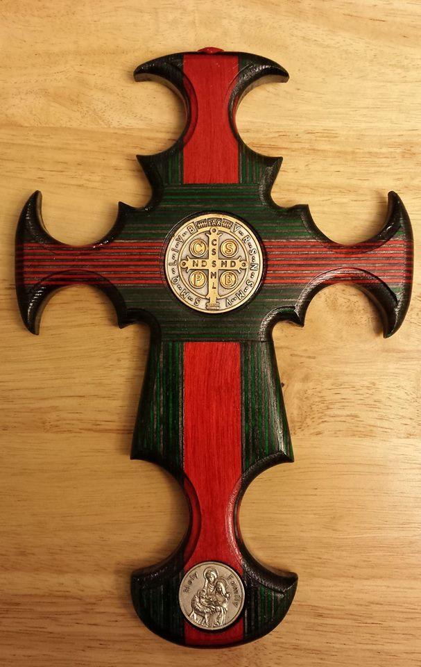 The Christmas Cross - Cross of St. Benedict